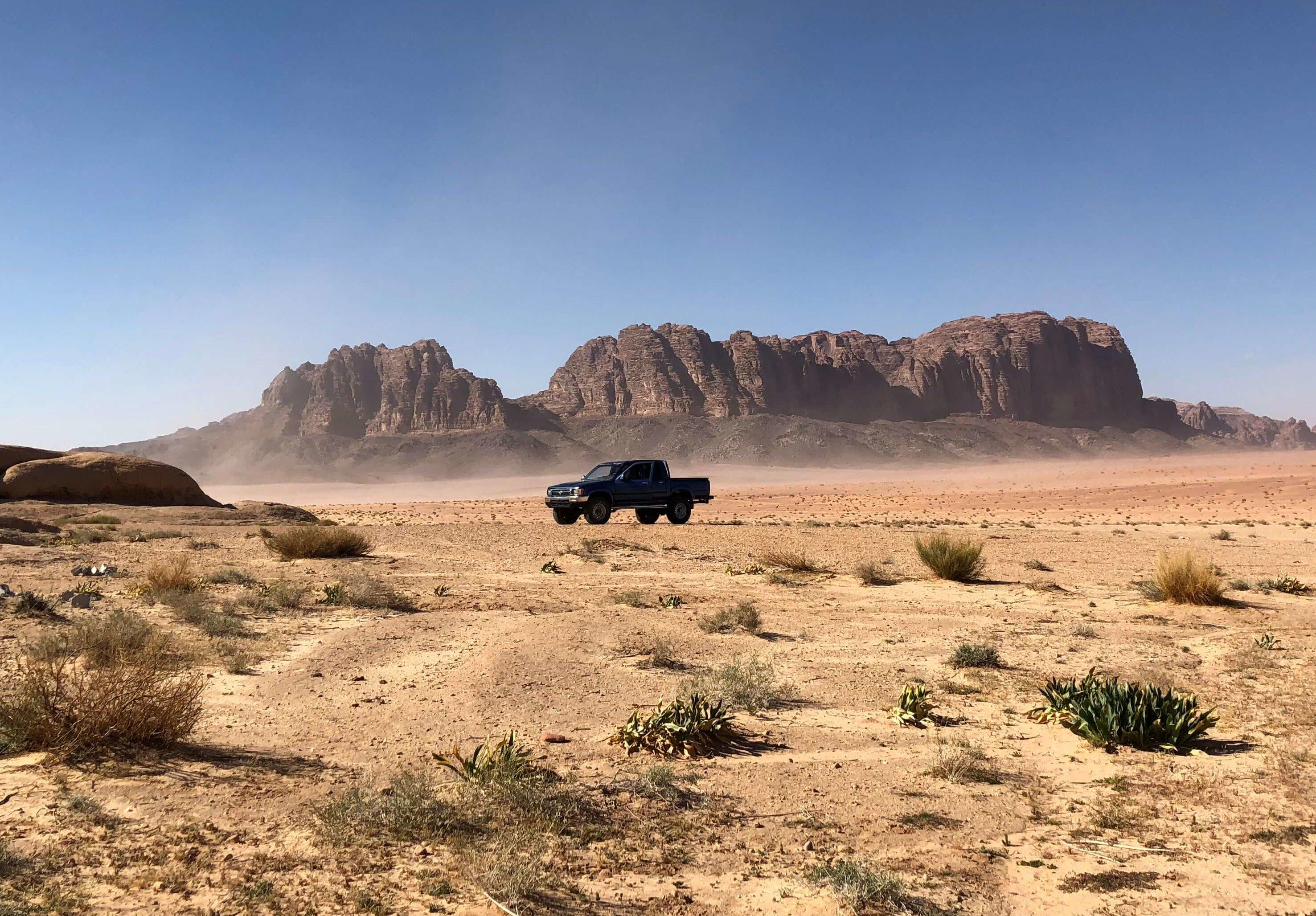 Wadi rum excursion