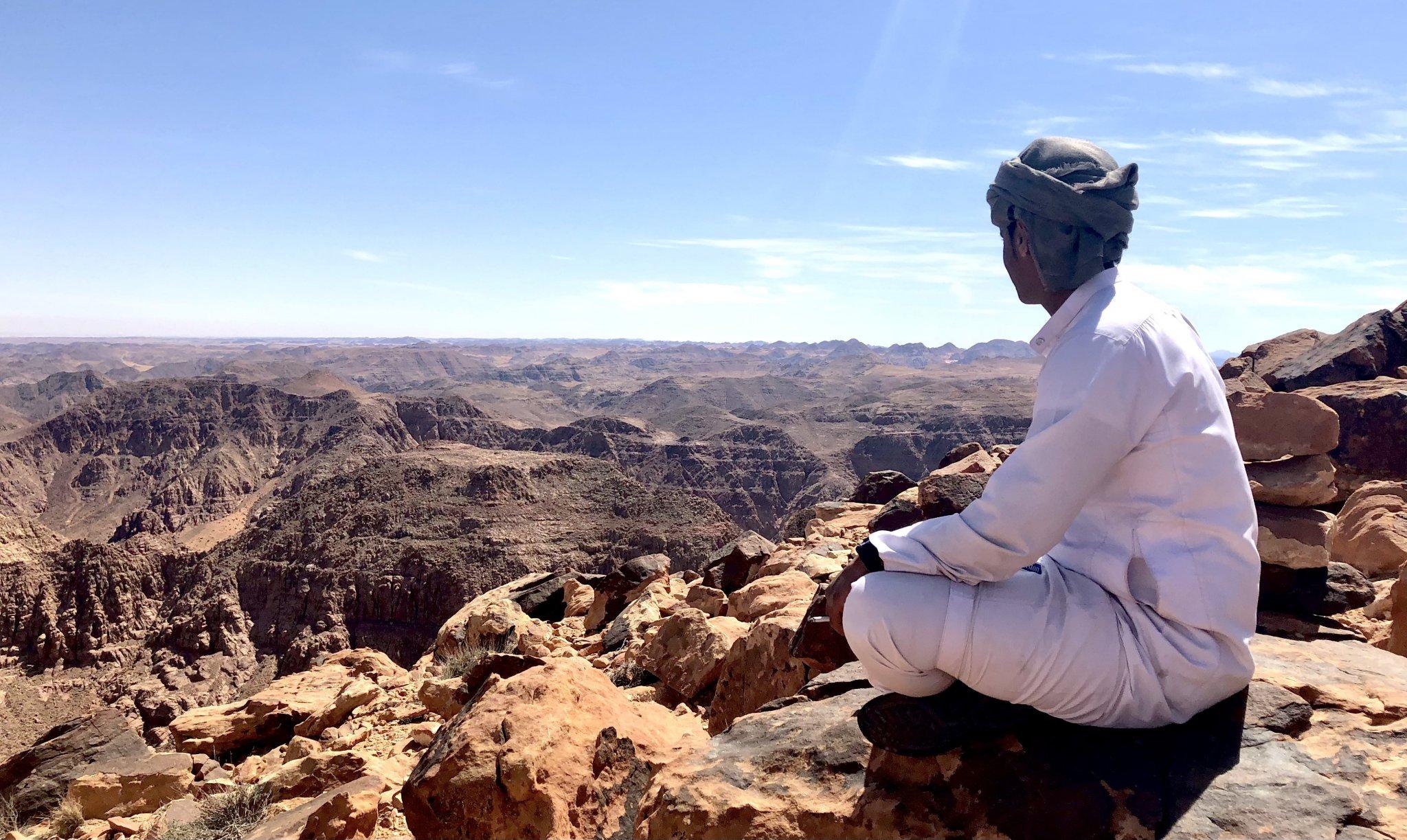 Hike wadi rum jordan