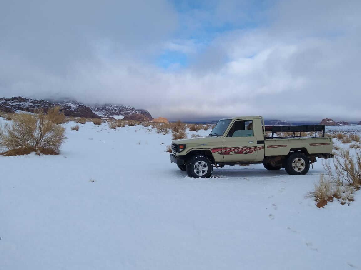 Winter in Wadi Rum