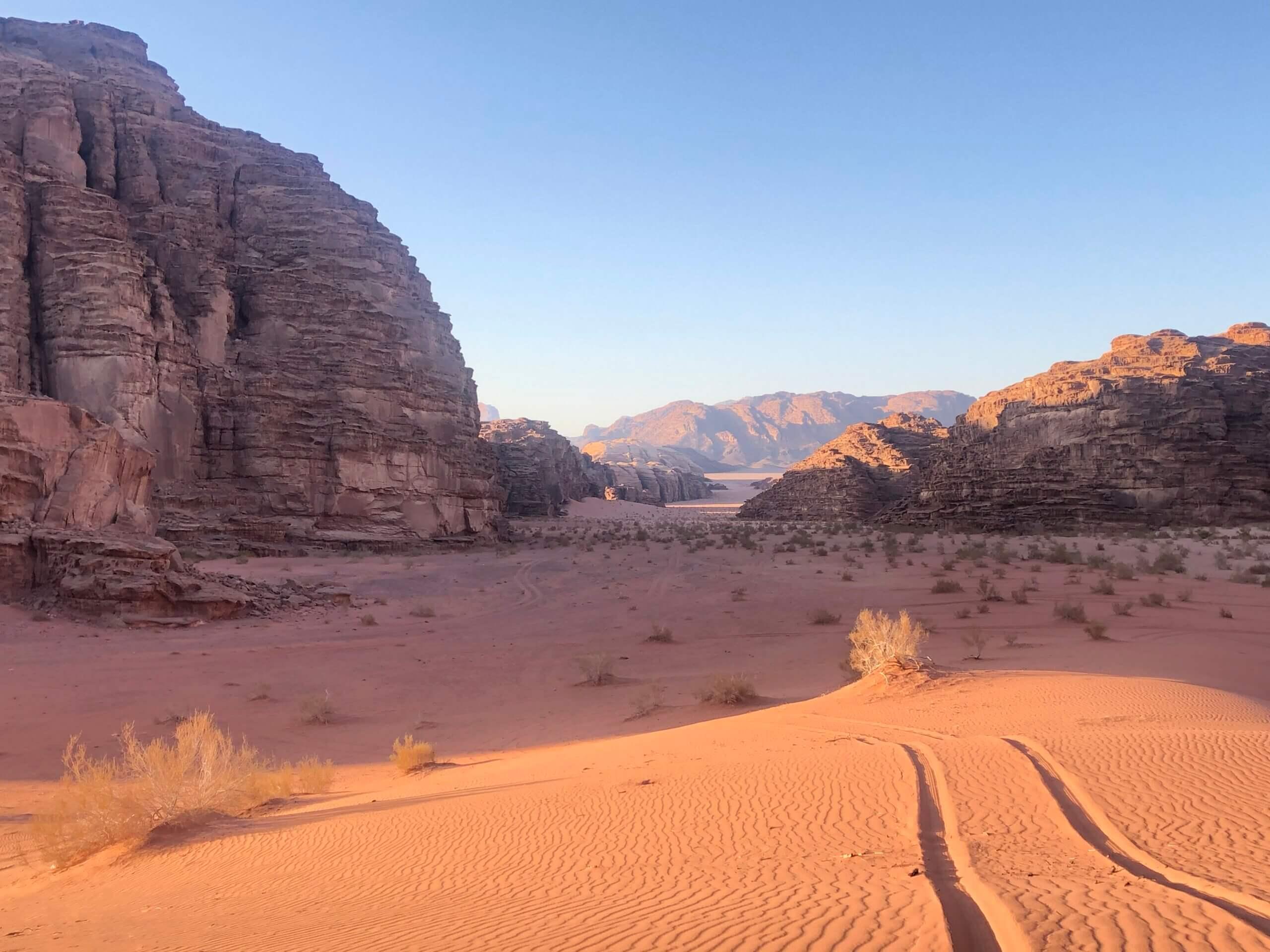 Off-road tour Wadi Rum Jordan