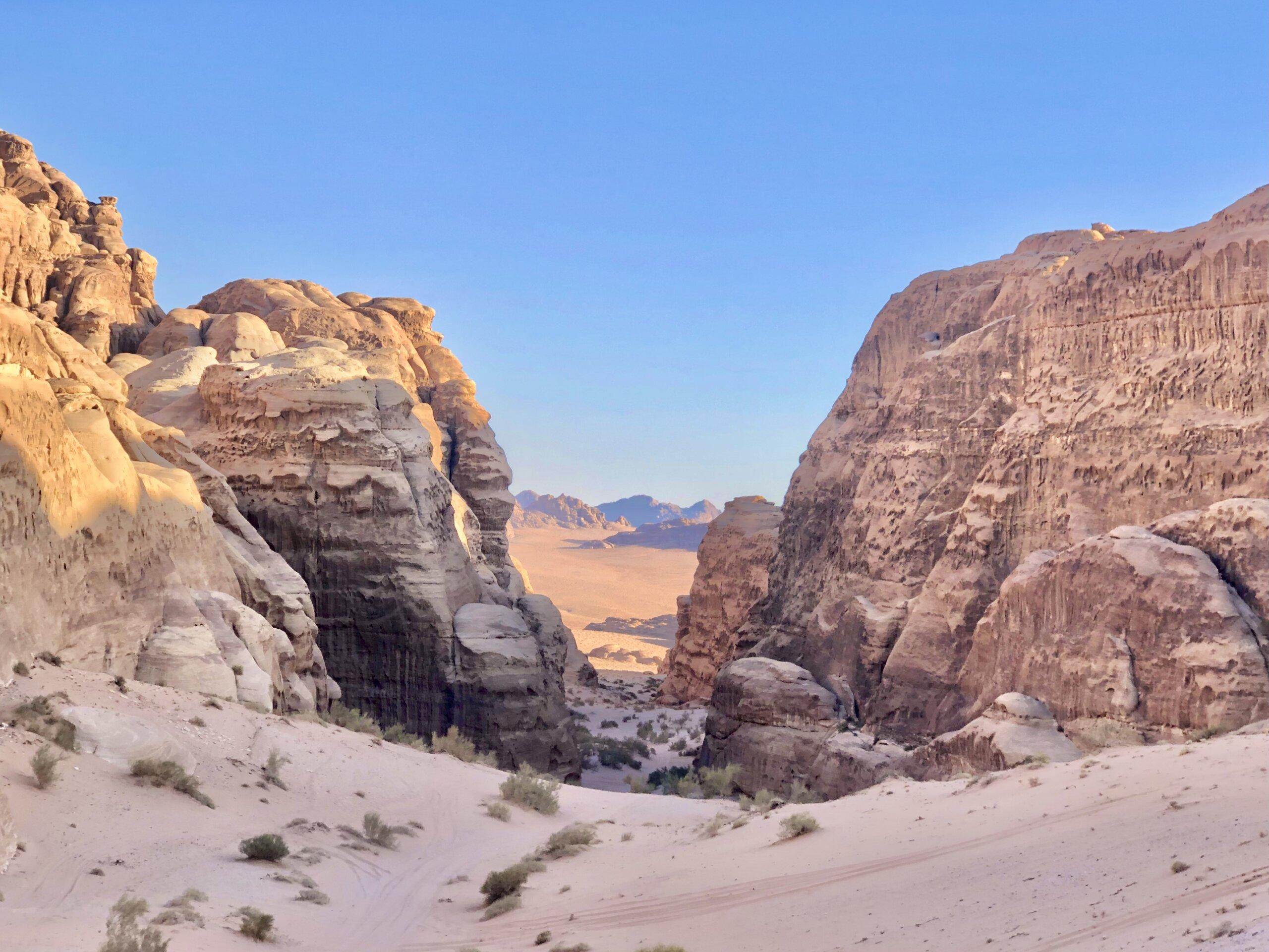 Nuqra Canyon - Wadi Rum